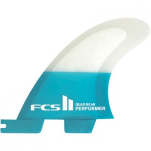 FCS II Fins Performer PC Medium Quad Rears Fin Set