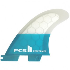 FCS II Fins Performer PC Large Tri Fin Set