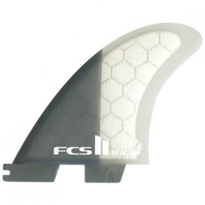 FCS II Fins Reactor PC Medium Tri Fin Set