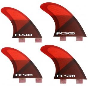 FCS Fins PC3 Quad Fin Set