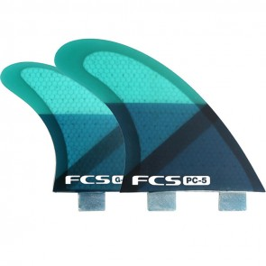 FCS Fins PC5 Tri-Quad Fin Set