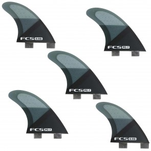 FCS Fins PC7 Tri-Quad Fin Set