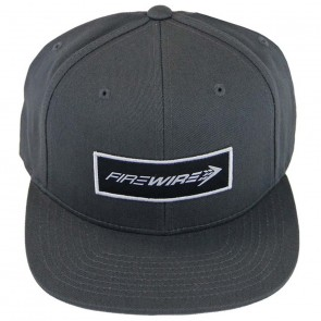 Firewire Surfboards Corpo Snapback Hat - Grey/White
