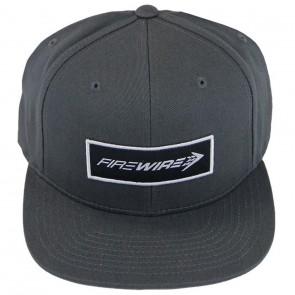 Firewire Surfboards Corpo Snapback Hat - Grey/White