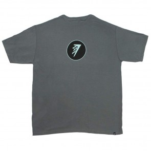 Firewire Surfboards Circle Icon T-Shirt - Charcoal