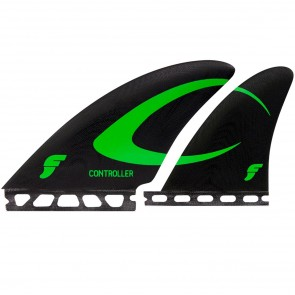 Futures Fins Controller Glass Quad - Black/Green