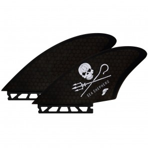 Futures Fins Rasta Keel Twin Fin Set