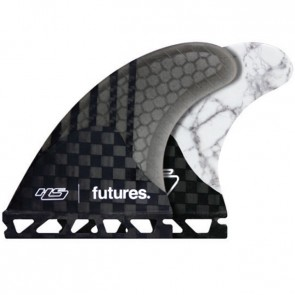 Futures Fins HS2 Generation - Carbon/White