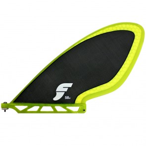 Futures Fins JB Runner SUP Fin - Carbon/Neon Yellow