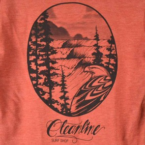 Cleanline Eagle T-Shirt - Clay