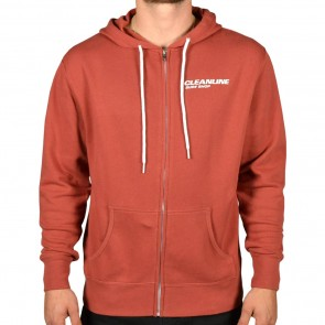 Cleanline New Rock Zip Hoodie - Rust