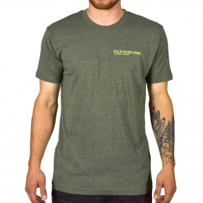 Cleanline New Rock T-Shirt - Army Heather