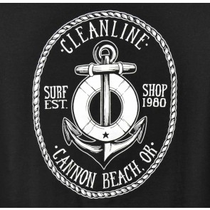 Cleanline Women's Anchor Cannon Beach Scoop Top - Black
