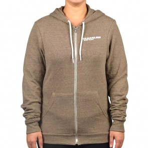 Cleanline Women's New Rock Zip Hoodie - Coffee