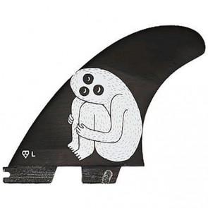 Gorilla Sloth Palm Trend Shank Tri-Quad Fins - FCS II