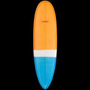 "Modern Surfboards 6'8"" Love Child Surfboard - Orange/Blue"