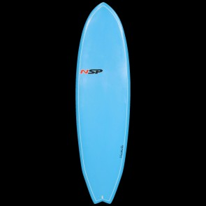 Global Surf Industries - 6'4 NSP Elements Fish Surfboard - Blue