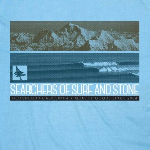 HippyTree Ridgeline T-Shirt  - Light Blue