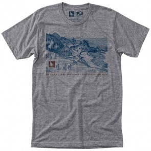 HippyTree Coast T-Shirt - Heather Grey