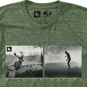 HippyTree Huntsman T-Shirt - Heather Army