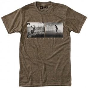 HippyTree Huntsman T-Shirt - Heather Brown