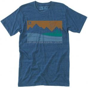 HippyTree Boundary T-Shirt - Heather Navy
