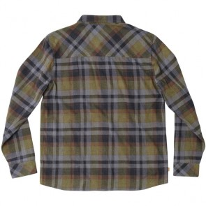 HippyTree Harbor Flannel - Army