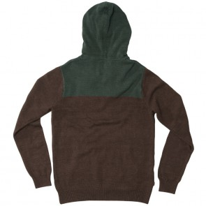 HippyTree Huntsville Hooded Sweater - Brown