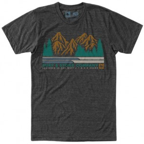 HippyTree Woodsman T-Shirt - Heather Charcoal