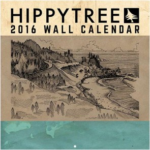 HippyTree 2016 Wall Calendar