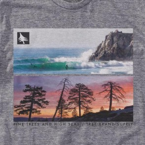 HippyTree Seapoint T-Shirt - Heather Grey