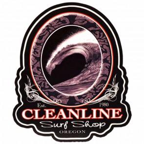 Cleanline Surf Midnight Barrel Sticker