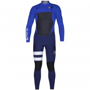 Hurley Fusion 4/3 Wetsuit - Racer Blue