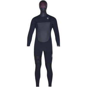 Hurley Fusion 5/3 Hooded Wetsuit - Black
