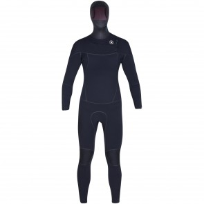 Hurley Phantom 4/3 Hooded Wetsuit - Black