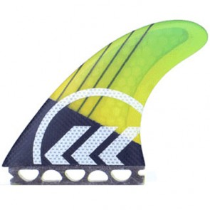 Kinetik Racing Fins Parko Phase 4 XS/S Futures - Yellow/Green
