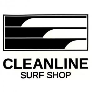 Cleanline Surf Lines Sticker - Black