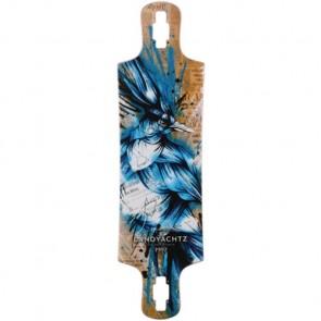Landyachtz Maple Drop Hammer Blue Jay Longboard Deck