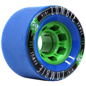 Landyachtz 70mm Mini Zombie Hawgs Wheels - Blue