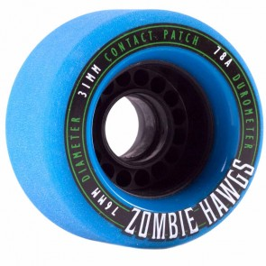 Landyachtz - 76mm Zombie Hawgs Wheels - Blue