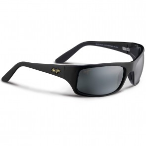 Maui Jim Peahi Sunglasses - Gloss Black/Neutral Grey