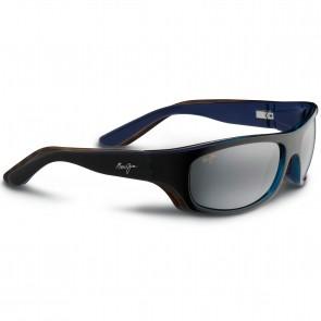 Maui Jim Surf Rider Sunglasses - Black/Blue/Natural Grey