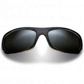 Maui Jim Surf Rider Sunglasses - Grey Black Stripe/Natural Grey