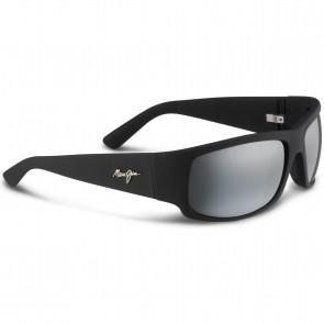 Maui Jim World Cup Sunglasses - Matte Black Rubber/Neutral Grey