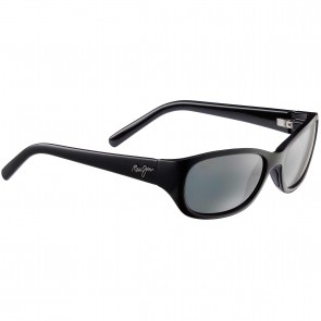Maui Jim Women's Kuiaha Bay Sunglasses - Midnight Black/Neutral Grey
