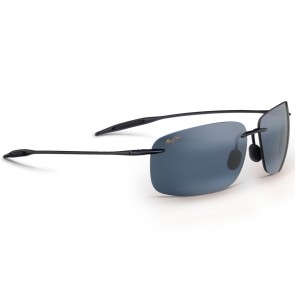 Maui Jim Breakwall Sunglasses - Gloss Black/Neutral Grey
