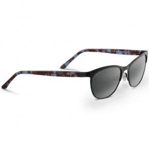 Maui Jim Popoki Sunglasses - Satin Black/Neutral Grey