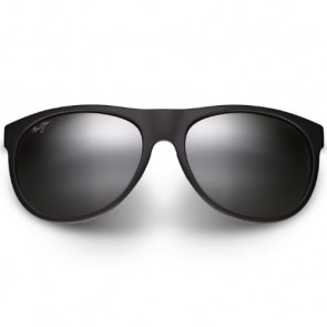 Maui Jim Rising Sun Sunglasses - Matte Black/Neutral Grey