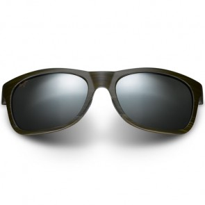 Maui Jim Kahi Sunglasses - Matte Aqua Wood Grain/Neutral Grey
