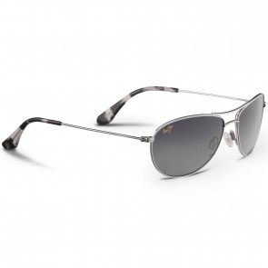 Maui Jim Baby Beach Sunglasses - Silver/Neutral Grey